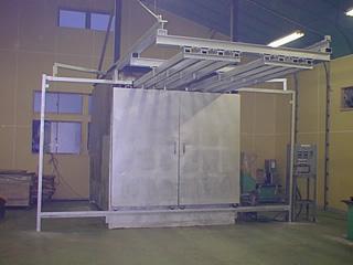樹脂コーティング炉