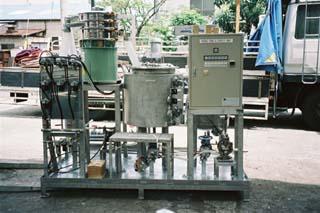薬液供給タンクユニット