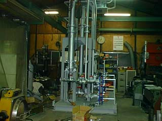 反応塔実験装置